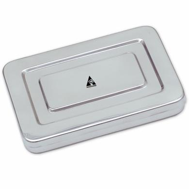 "Description Insturments Tray Inox Size: 9""x6""x1"""