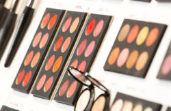 Photo: palettes with eye shadow © Messe Düsseldorf