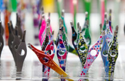 Photo: colorful tweezers